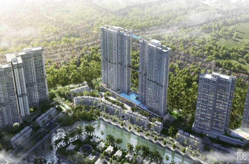 Ra mắt tòa tháp đôi 41 tầng cùng hàng loạt tiện ích tầm cỡ trong Ecopark
