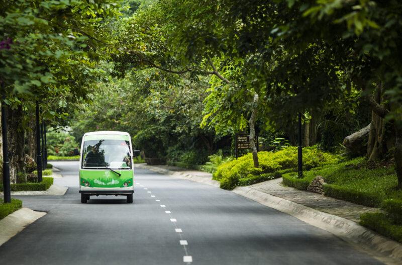 Xe điện Ecopark – Lịch trình di chuyển mới nhất